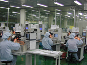 Chip on Board (COB) Production Line.